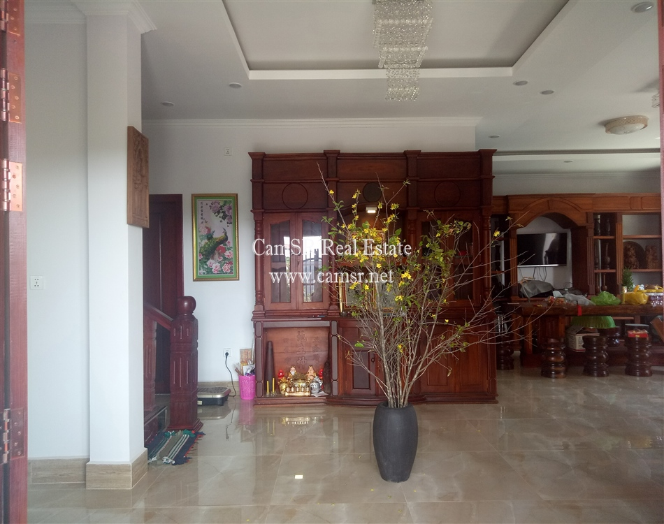 House For Sale in Siem Reap-Sala Komreuk