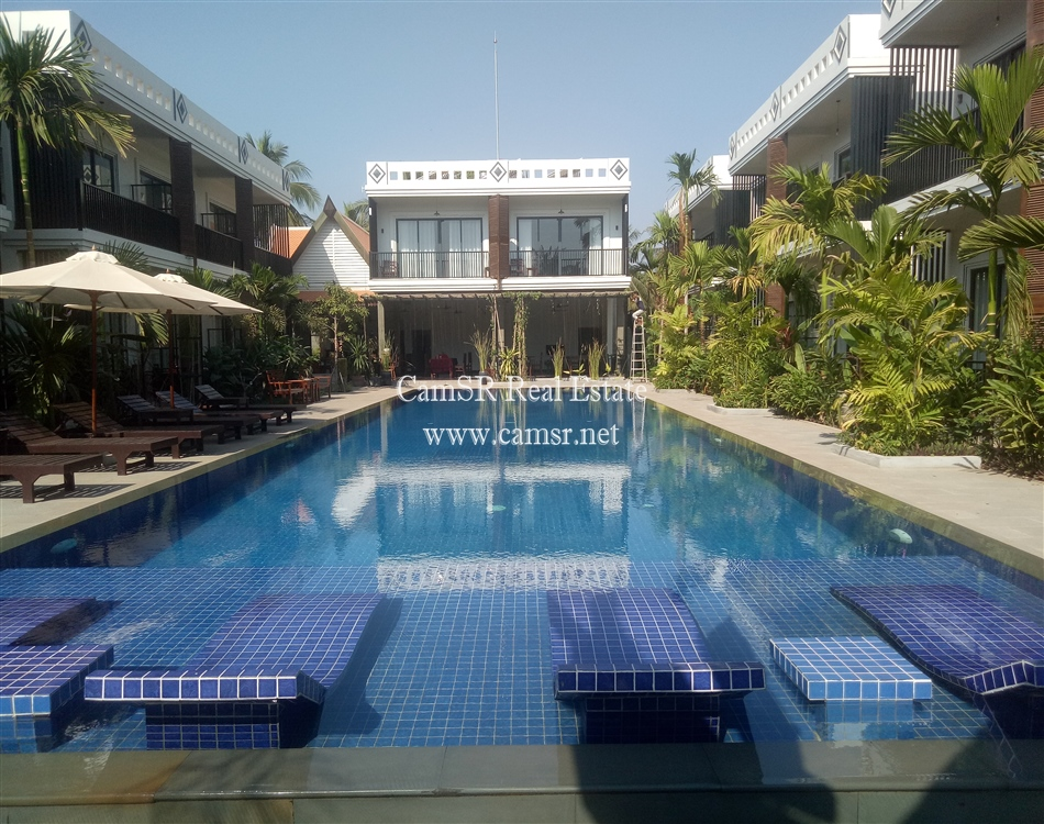 Boutique Hotel for Sale in Siem Reap – Sala Komreuk