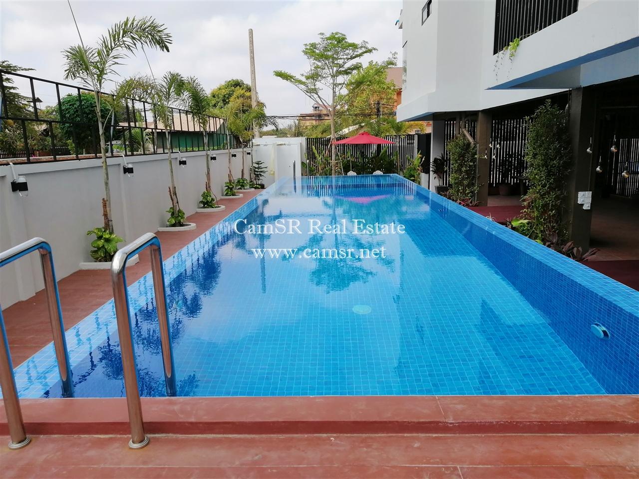 Apartment Block For Rent in Siem Reap-Svay Dangkum