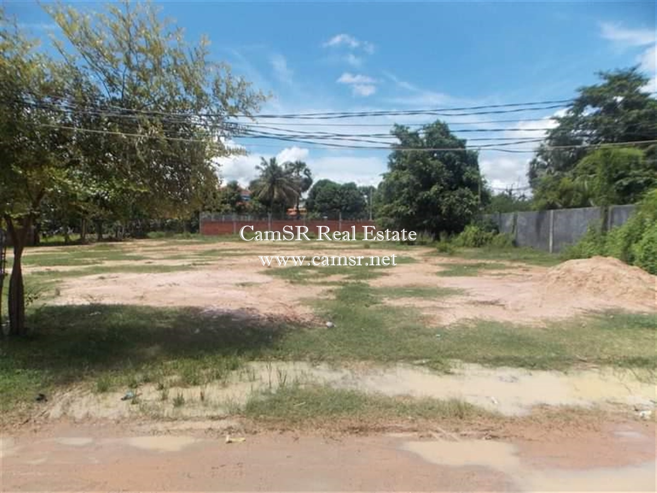 Land For Sale in Siem Reap-Svay Dangkum
