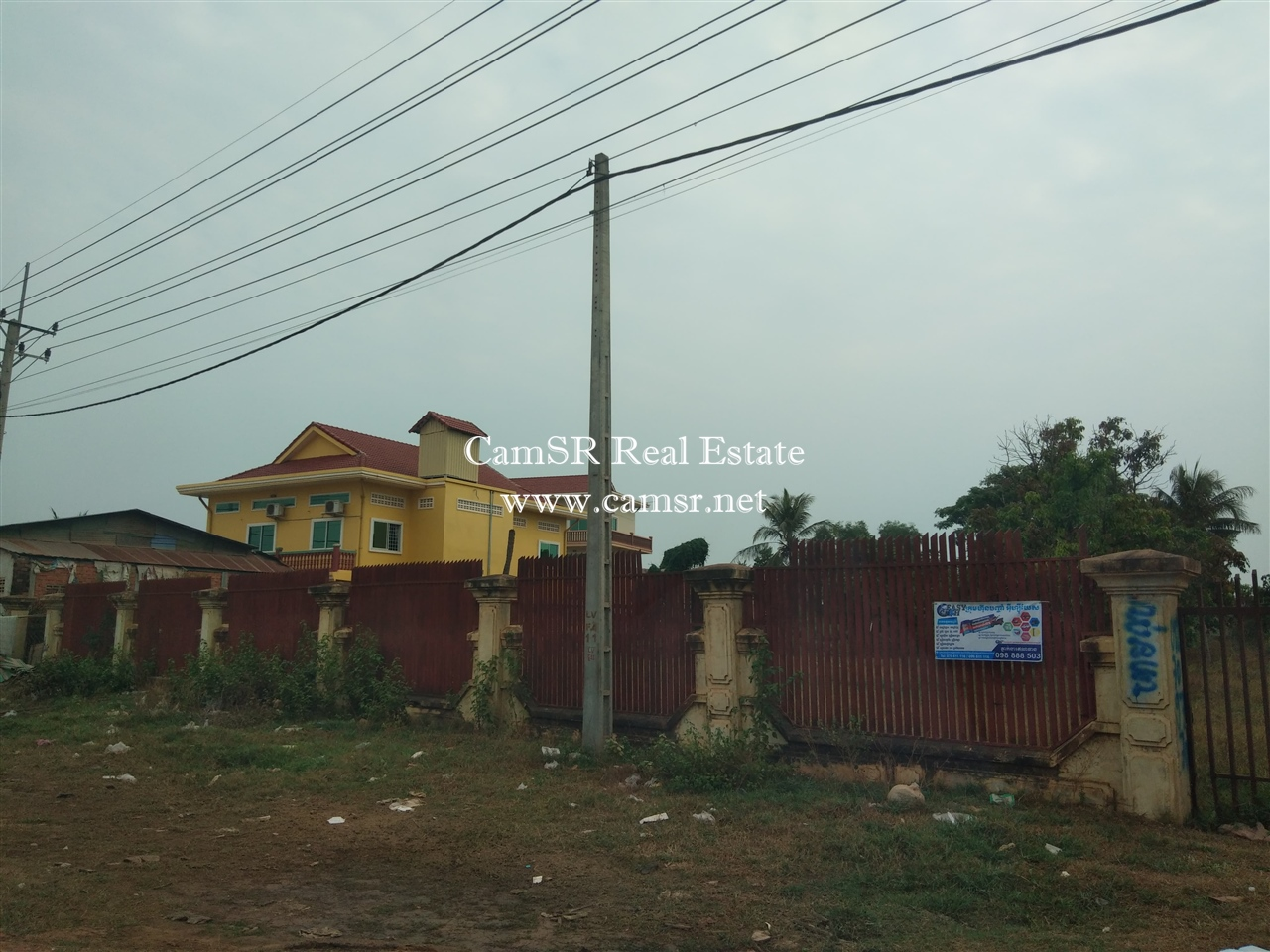 Land for Sale in Siem Reap – Svay Dangkum
