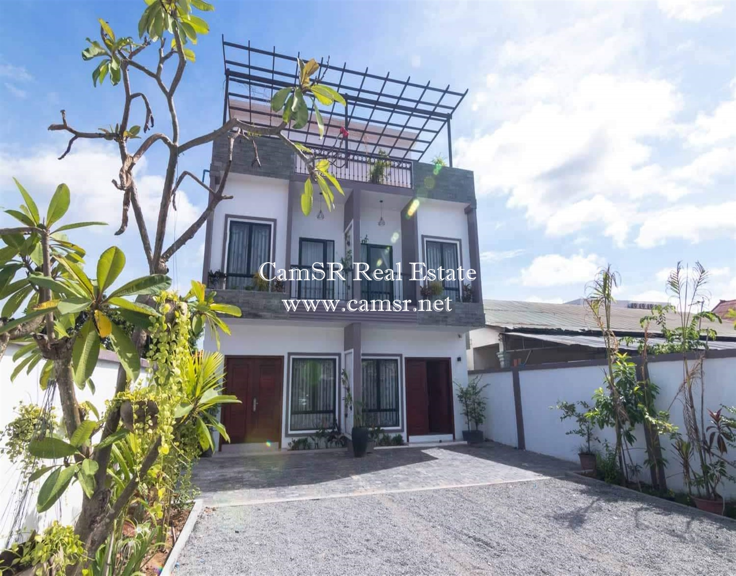 Twin House for Rent in Siem Reap – Svay Dangkum