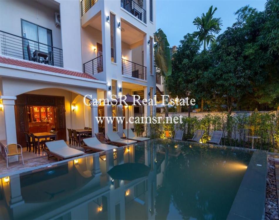 Boutique Villa for Rent in Siem Reap – Svay Dangkum