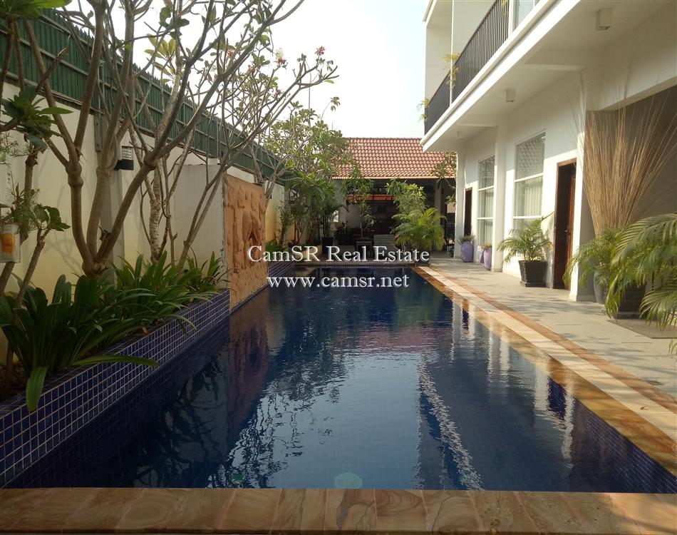 Boutique Villa for Rent in Siem Reap – Sala Komreuk