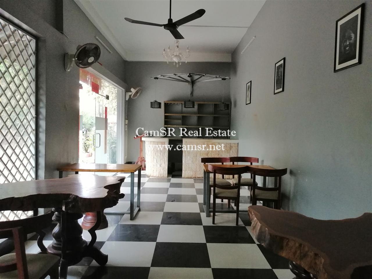 Restaurant For Rent in Siem Reap-Svay Dangkum