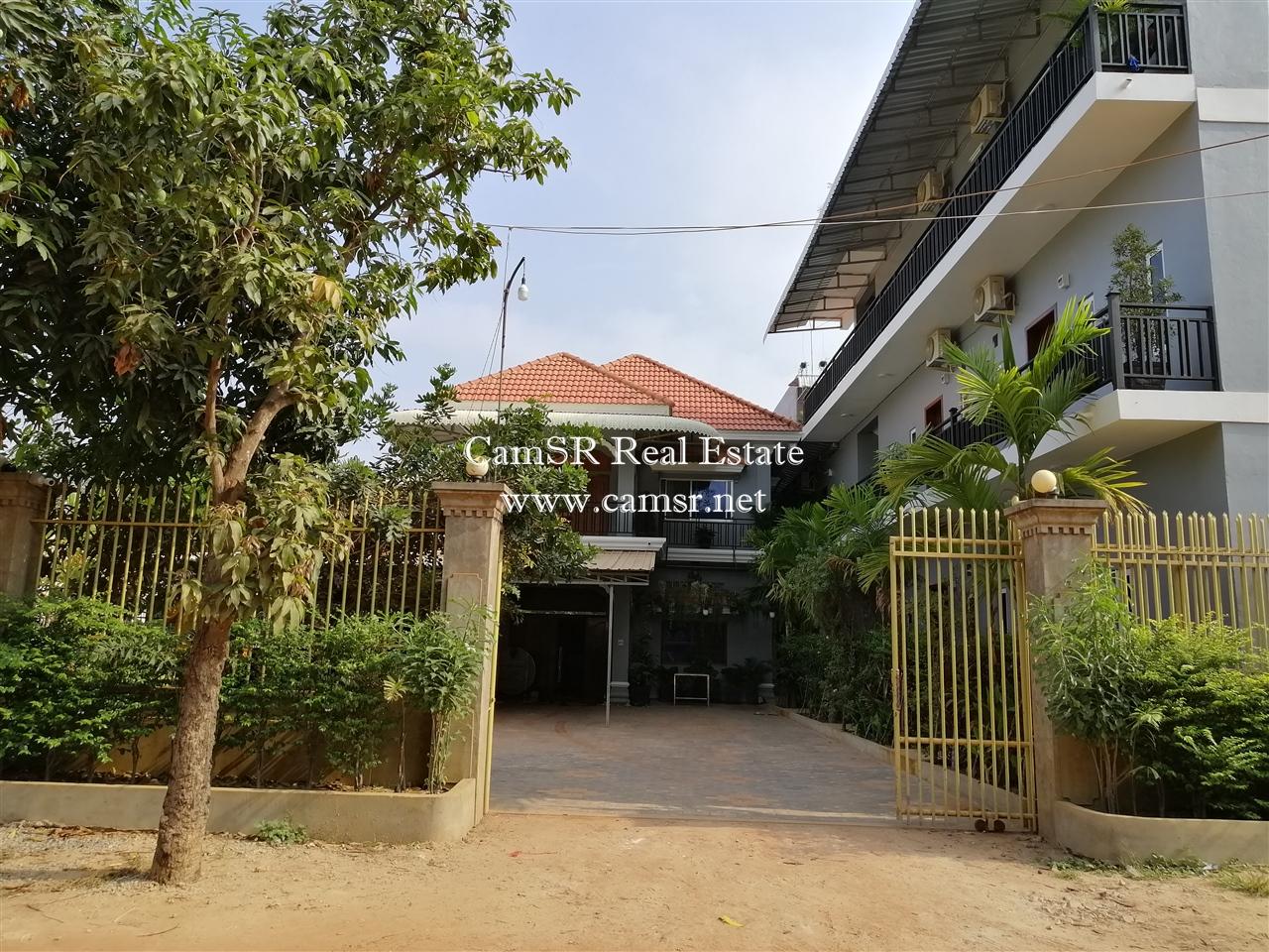 Apartment Block For Rent in Siem Reap-Sala Kamreuk