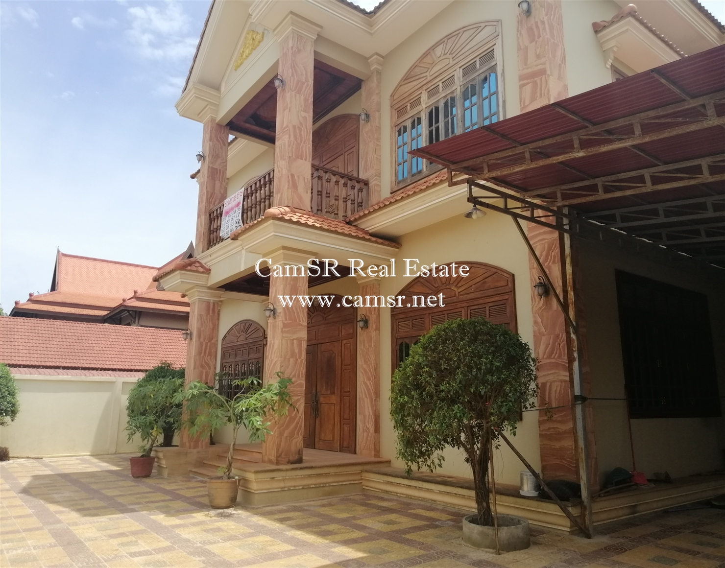 Villa for Rent in Siem Reap – Svay Dangkum